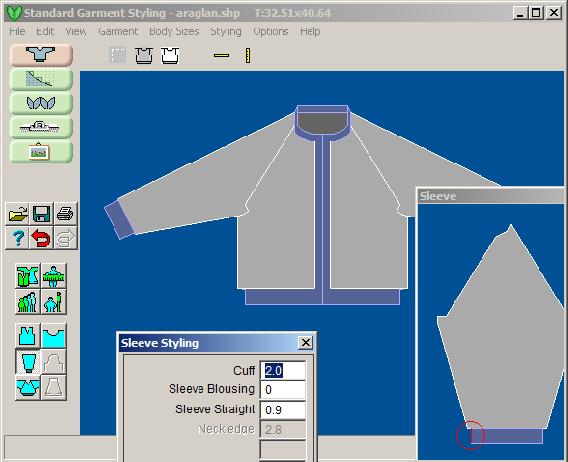 DesignaKnit 8 Patrones de prendas estandar