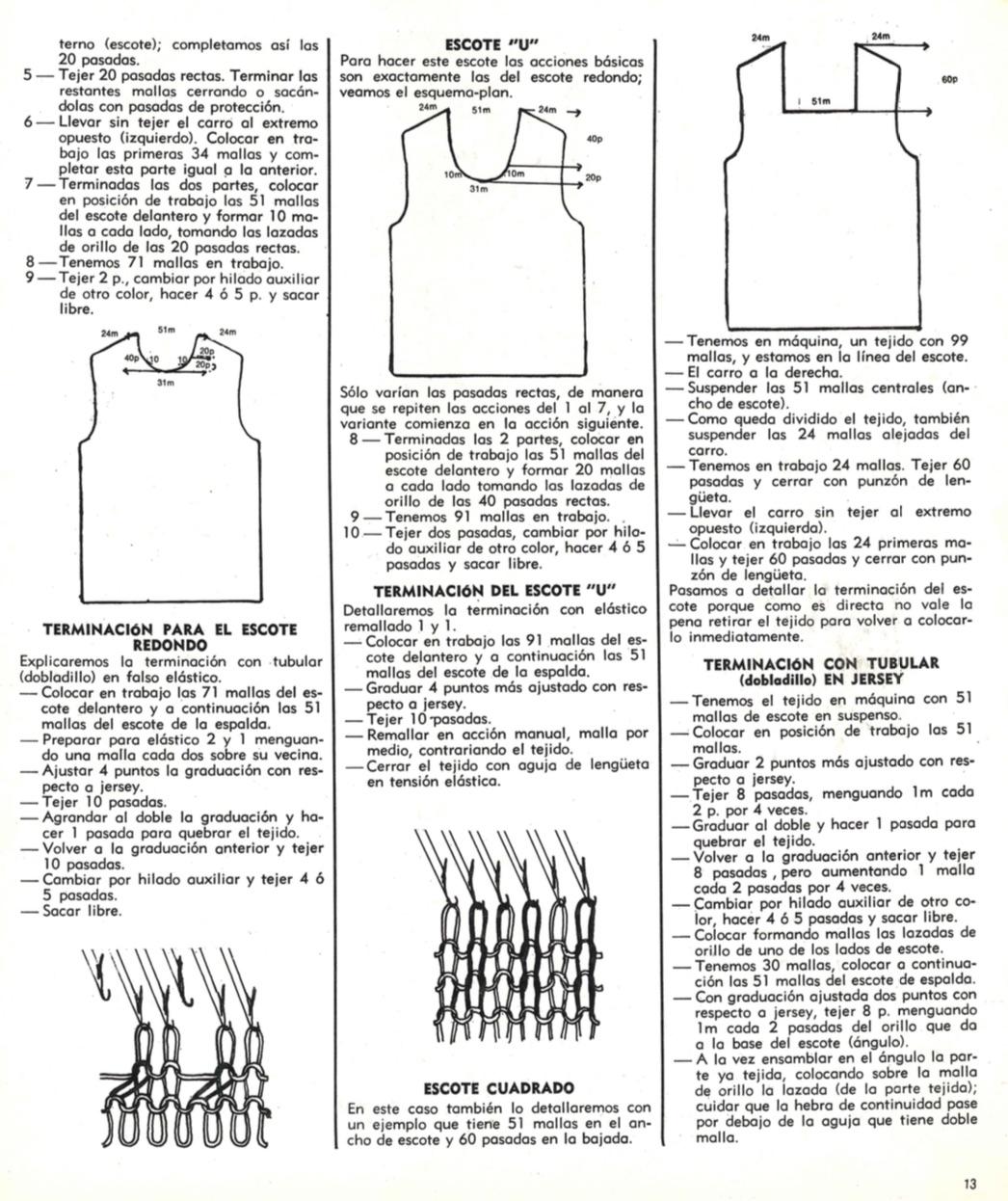 El arte de tejer a maquina 2